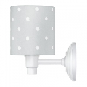 Kinkiet LOVELY DOTS GREY Lamps & Co., szary
