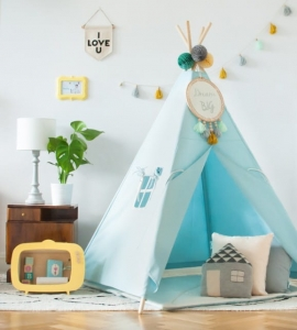 Namiot Tipi CLASSIC MINT Lamps & Co., miętowy