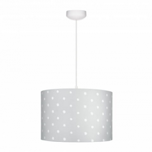 Abażur LOVELY DOTS GREY Lamps & Co., szary