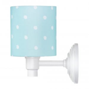 Kinkiet LOVELY DOTS MINT Lamps & Co., miętowa