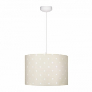 Abażur LOVELY DOTS BEIGE Lamps & Co., beżowy