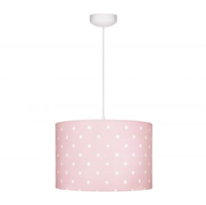 Abażur LOVELY DOTS PINK Lamps & Co., różowy