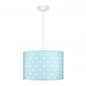 Abażur LOVELY DOTS MINT Lamps & Co., miętowy