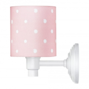 Kinkiet LOVELY DOTS PINK Lamps & Co., różowy