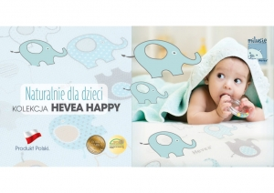 Mata Hevea Happy Baby 70x140
